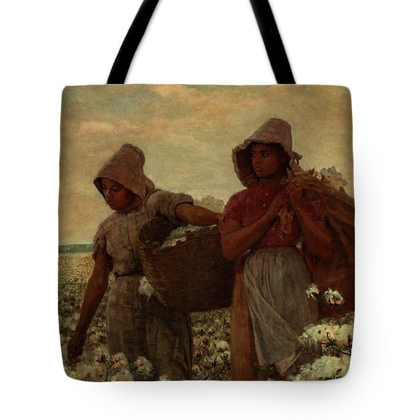 The Cotton Pickers, 1876 Tote Bag