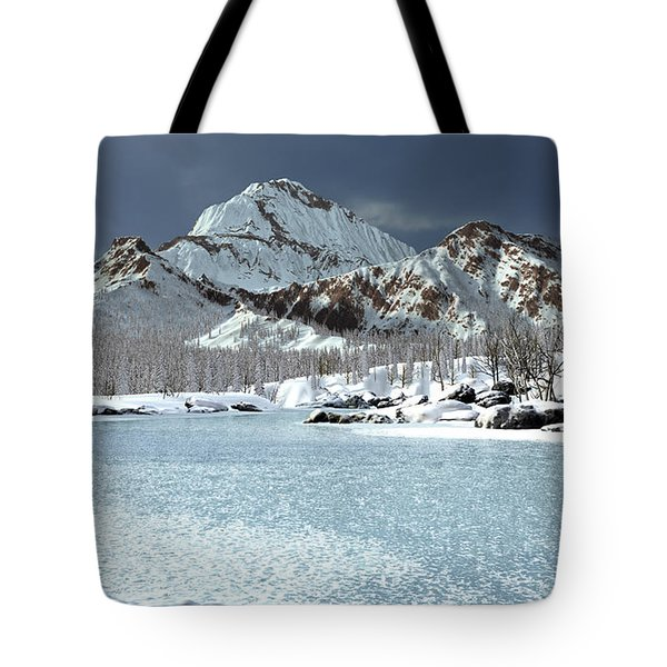 The Courtship Of Ice Tote Bag