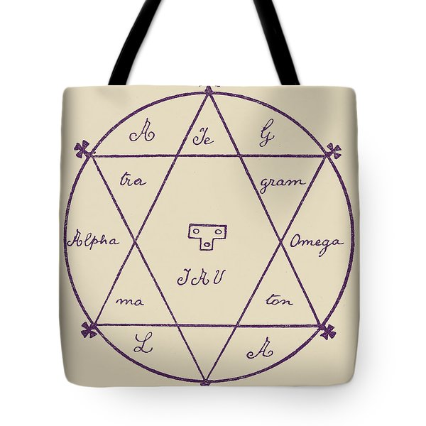 The Double Seal Of Solomon Tote Bag