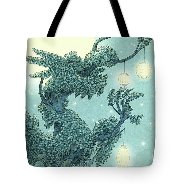 The Dragon Tree - Night Tote Bag
