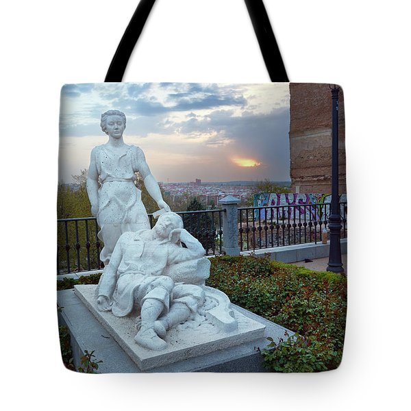 The Dream Of San Isidro Tote Bag