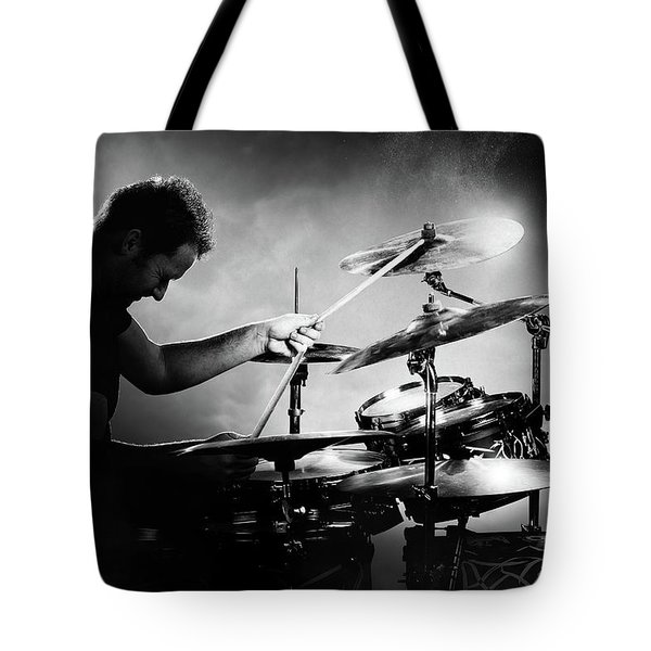 The Drummer Tote Bag