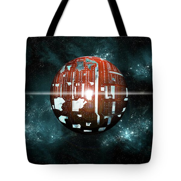 The Dyson Sphere  Tote Bag
