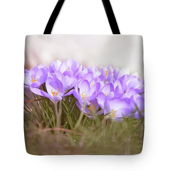 The Earth Blooms 2 Tote Bag