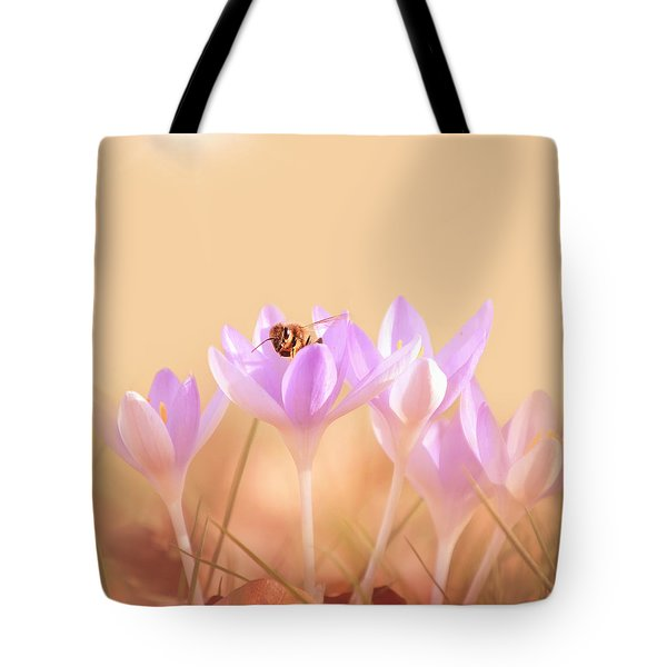 The Earth Blooms Tote Bag