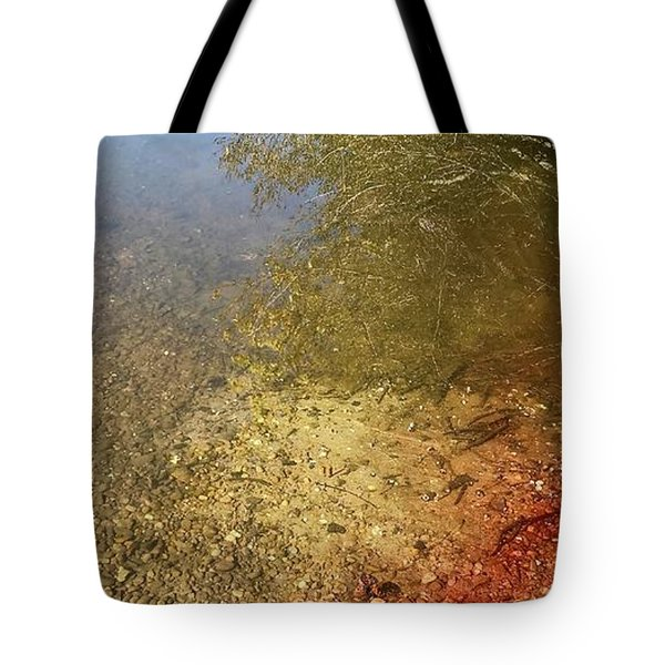 The Earth Is Bleeding Tote Bag