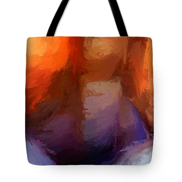 The Edge Of Darkness Tote Bag