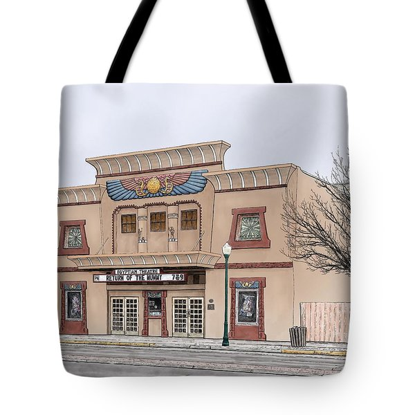 The Egyptian Theatre Tote Bag