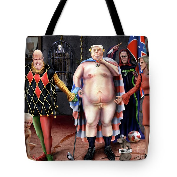 The Emperor And His Crazy House Tote Bag