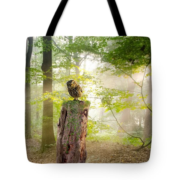 The Enchanted Forrest Tote Bag