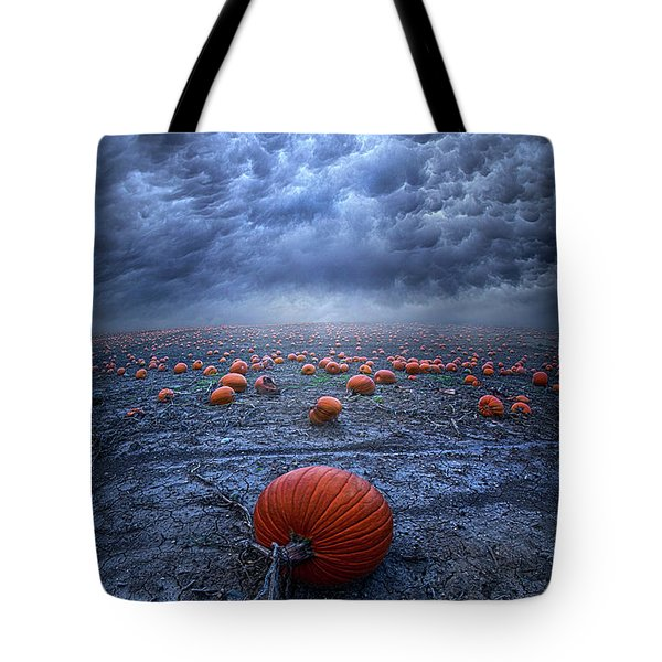 Tote Bag featuring the photograph The End Was Left Behind by Phil Koch
