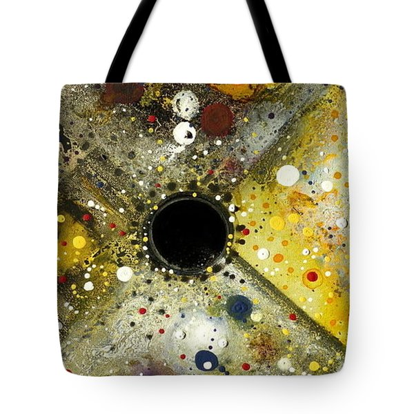 Tote Bag featuring the painting The Escape Artist by 'REA' Gallery