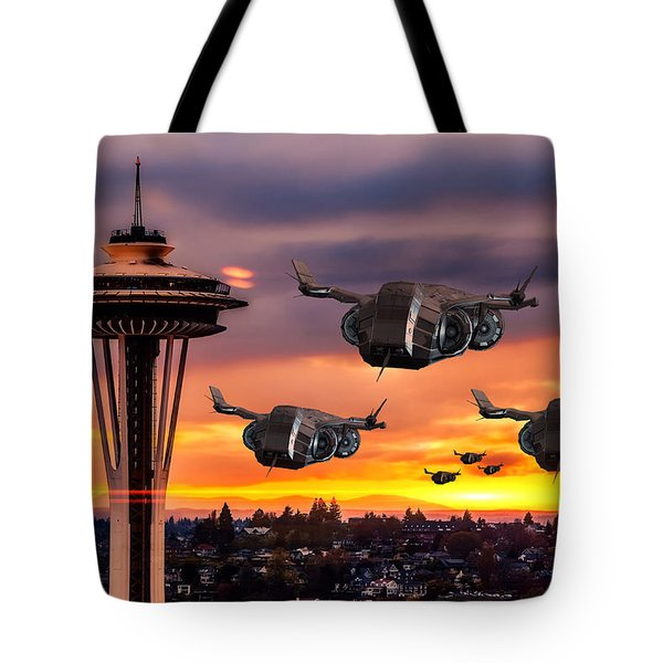 The Evening Commute Tote Bag