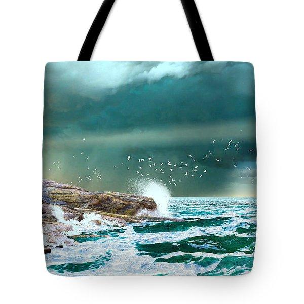 The Eye Of Neptune Tote Bag