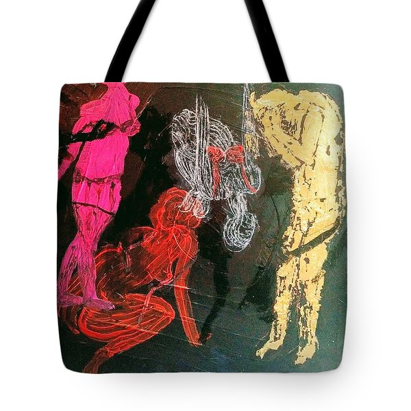The Fates Are Emerging Tote Bag