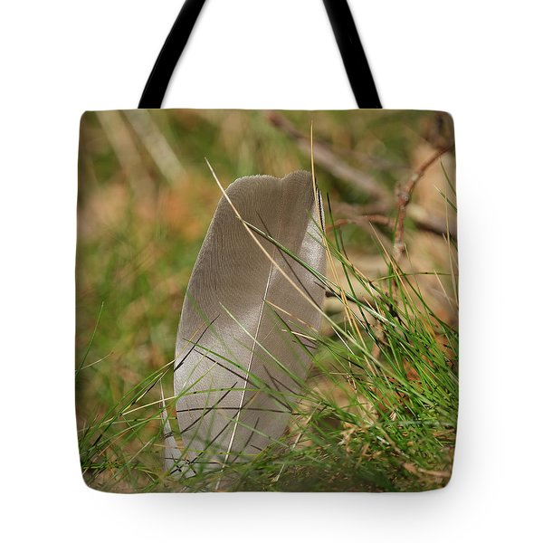 The Feather Tote Bag