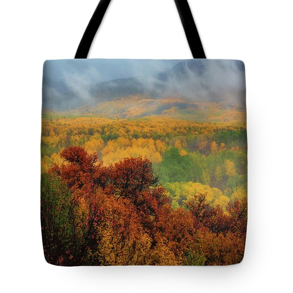 The Feeling Of Fall Tote Bag