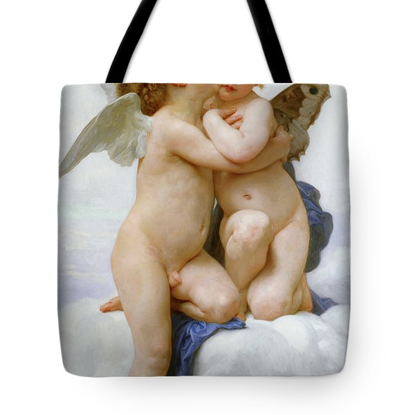 The First Kiss, 1890 Tote Bag
