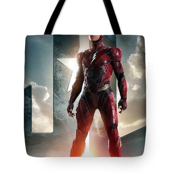 The Flash Justice League Tote Bag
