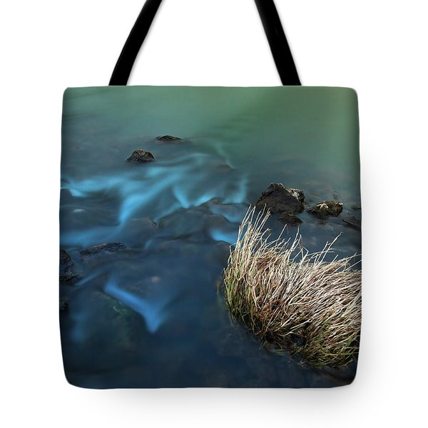 The Flow Of Time Tote Bag