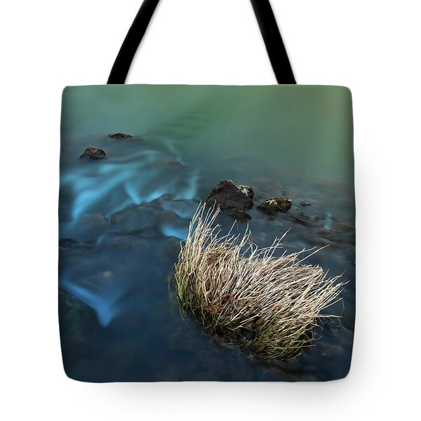 Tote Bag featuring the photograph The Flow Of Time by Davor Zerjav