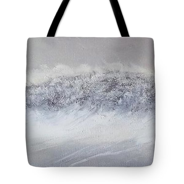 The Front Of Cold Tote Bag