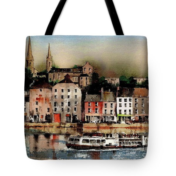 The Galley Off New Ross, Wexford Tote Bag