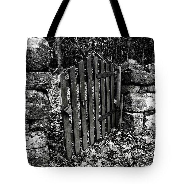 The Garden Entrance Tote Bag
