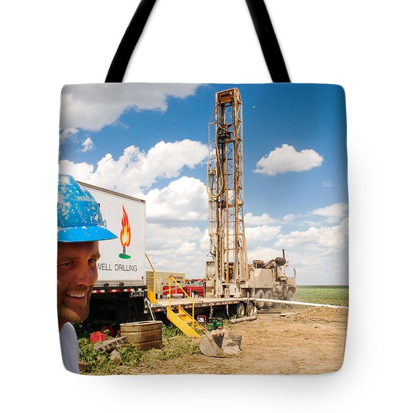 The Gas Man Tote Bag