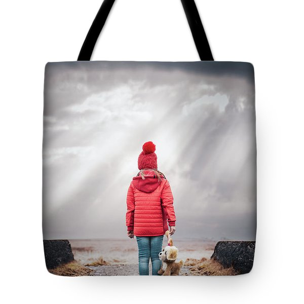 The Gates Of Light Tote Bag