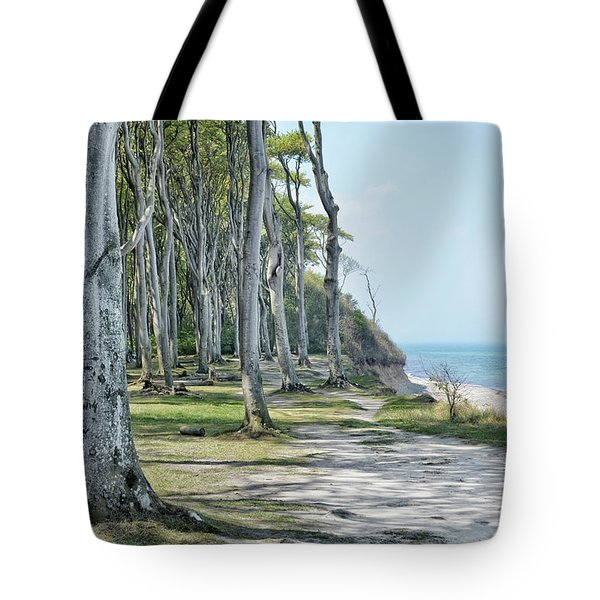 The Ghost Forest Of Nienhagen Tote Bag