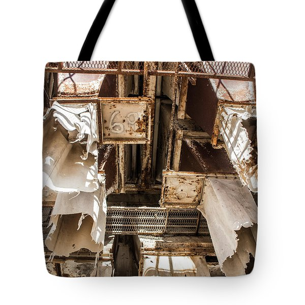 The Ghost Of Factories Past Tote Bag
