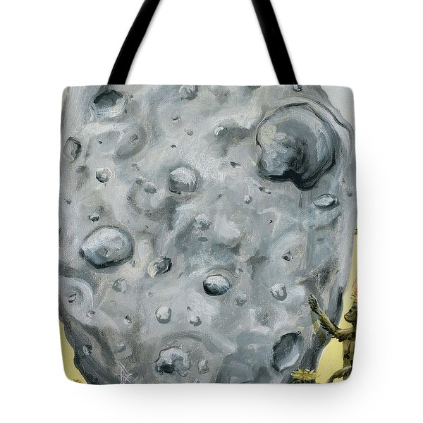 Tote Bag featuring the painting The Gift Of Fire by Ryan Demaree