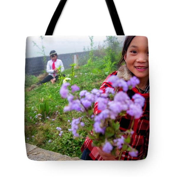 The Gift - Sapa, Vietnam Tote Bag