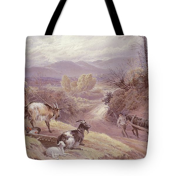 The Goat Herd, 19th Century Tote Bag