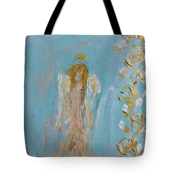 The Golden Child Angel Tote Bag