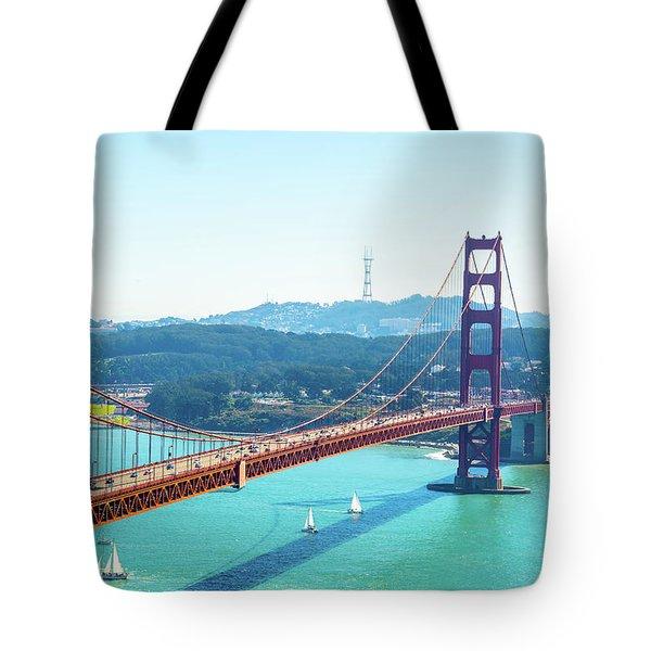 The Golden Gate Bridge I Tote Bag