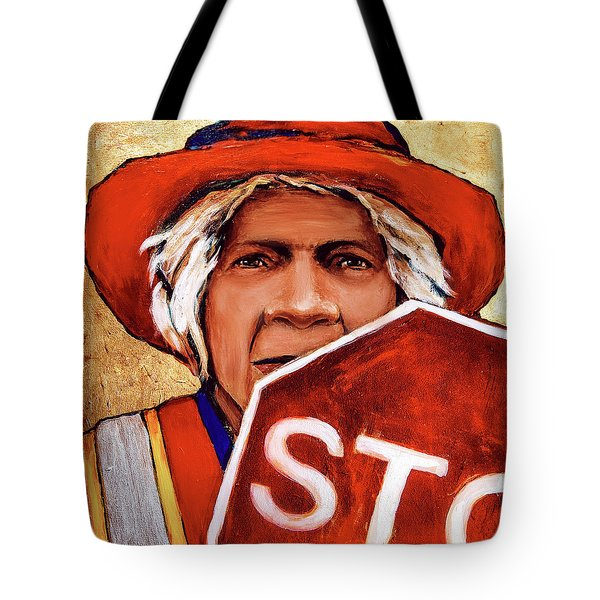 The Golden Years - Crossing Guard Tote Bag