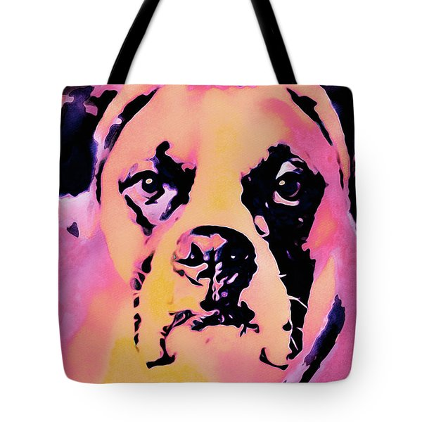 Tote Bag featuring the mixed media The Good Girl by Susan Maxwell Schmidt