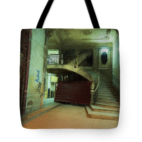 The Grand Entrance Tote Bag