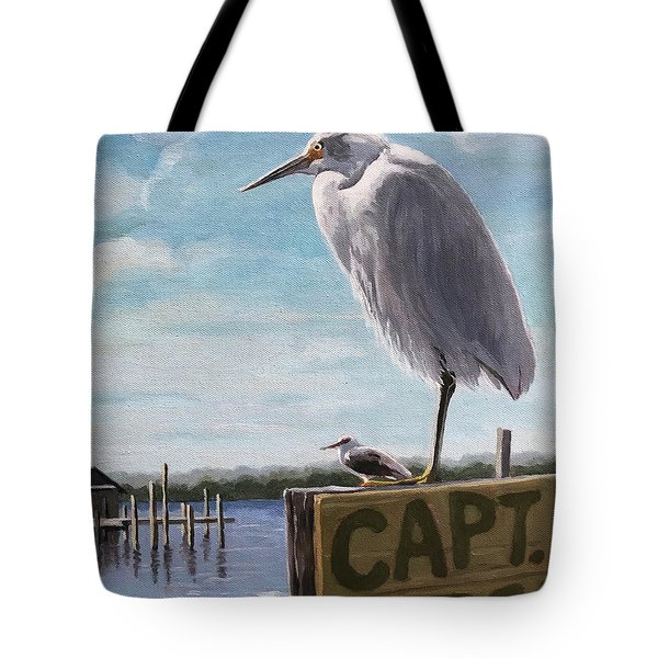 The Guardians - Florida Oil Painting Tote Bag