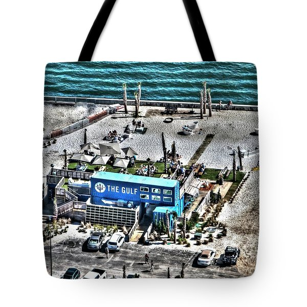 Tote Bag featuring the photograph The Gulf by Gulf Coast Aerials -