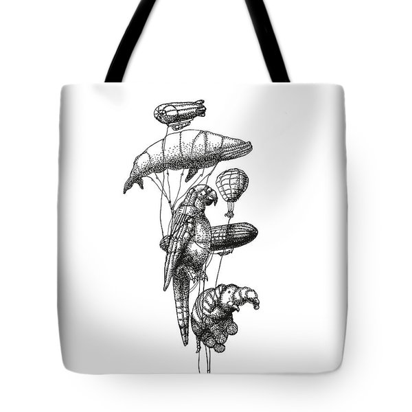 The Helium Menagerie Tote Bag