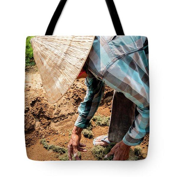 The Hoi An Organic Farmer, Vietnam  Tote Bag