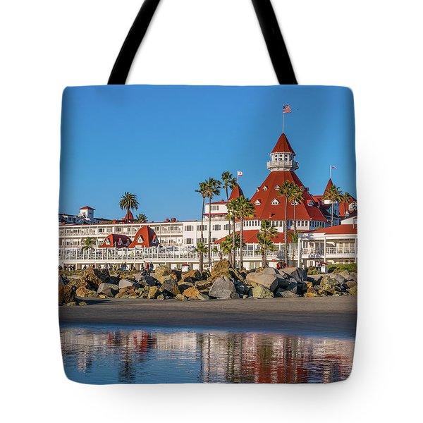 The Hotel Del Coronado San Diego Tote Bag