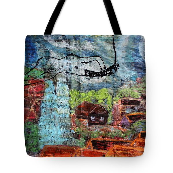 The Hues Brightened Life Seems Good Tote Bag
