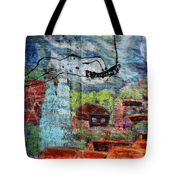 The Hues Brightened Life Seems Good Tote Bag