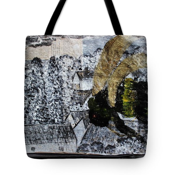 The Insects Watched Sensing They Were Next Tote Bag