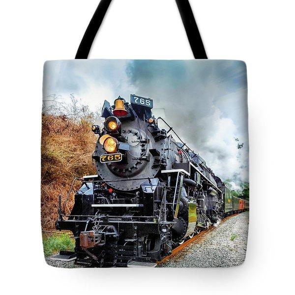 The Iron Horse  Tote Bag