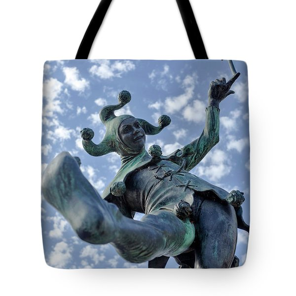 The Jester In Stratford Tote Bag